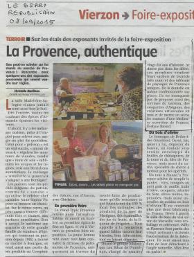 Presse vierzon 08 09 2015