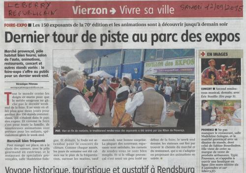 Presse vierzon 12 09 2015