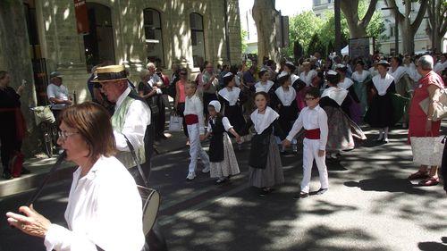 Avignon défilé des 90 ans du Ruban (5)