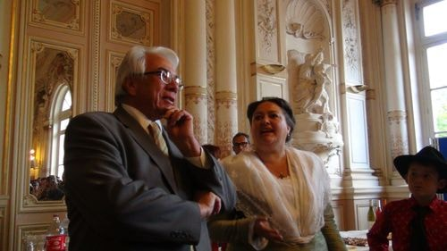 Réception Mairie  par M.Gontard 90 ans du Ruban (1)