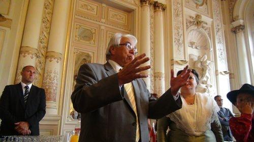Réception Mairie  par M.Gontard 90 ans du Ruban (2)