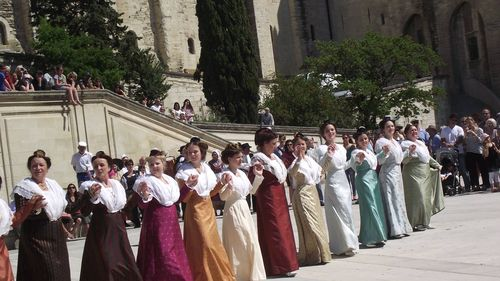 Spectacle avignon Palais des Papes (10)