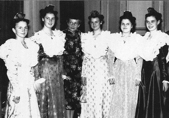 wetzlar 1958 avec Elsie Kühn-Leitz des usines Leica