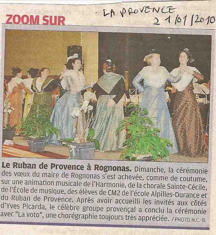 La Provence Presse 21 01 2010
