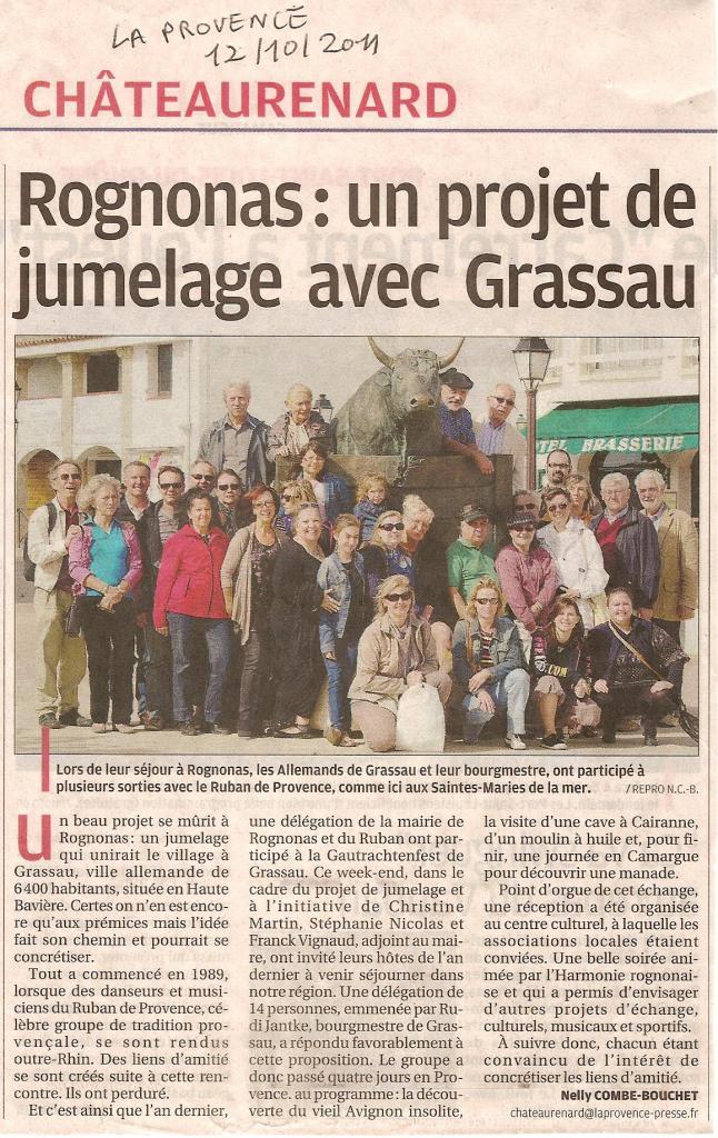 La Provence Châteaurenard 12 10 2011