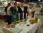 Avignon les halles exposition table des 13 desserts