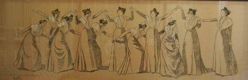 Hommage de leo lelee avec cette peinture sur soie