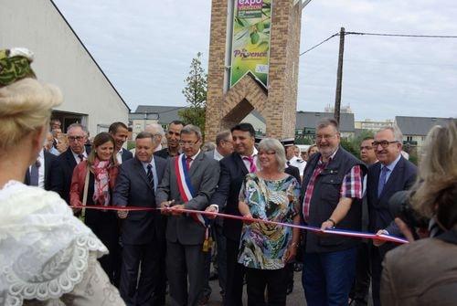 Inauguration de la foire de vierzon 1