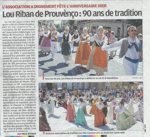 La provence presse du 18 mai 2014