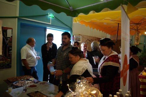 Le pavillon provence aperitif au stand du ruban 4