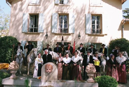 Meyrargues journee d arbaud avec la nacioun gardiano 2006 9