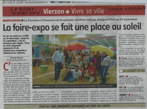 Presse vierzon 05 09 2015