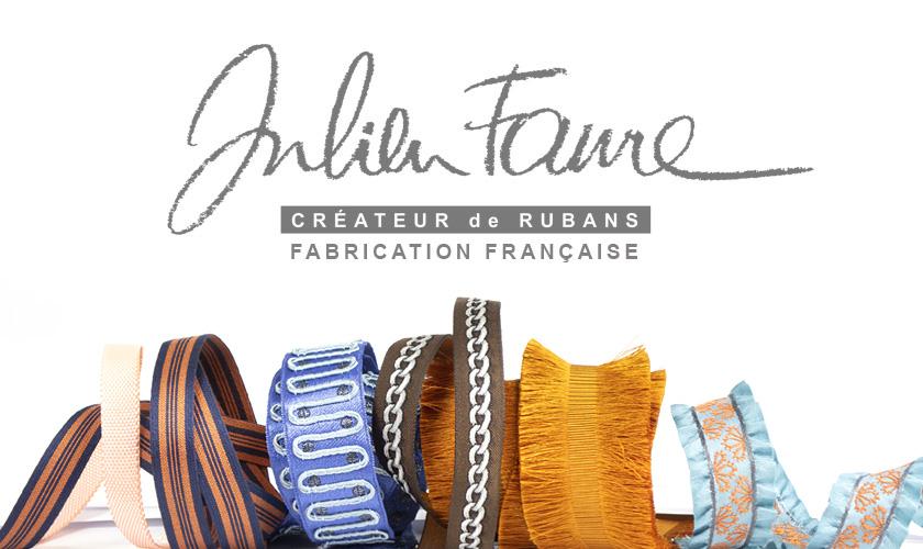 JULIEN FAURE CREATEUR DE RUBANS