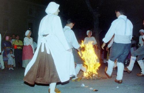 St roch rognonas avec les brules de chazemais 1992 17