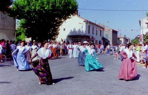 St roch rognonas avec les brules de chazemais 1992 20