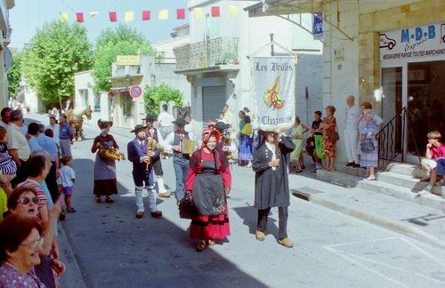 St roch rognonas avec les brules de chazemais 1992 23