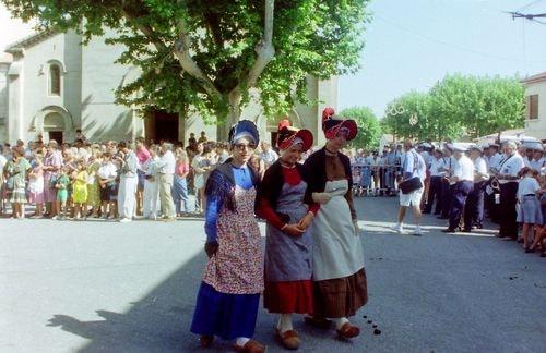 St roch rognonas avec les brules de chazemais 1992 28