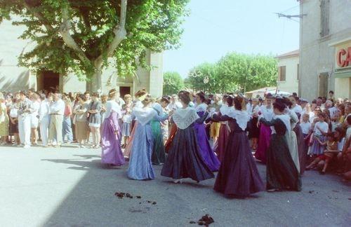 St roch rognonas avec les brules de chazemais 1992 29