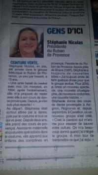 Vaucluse matin presse du 03 mars 2016